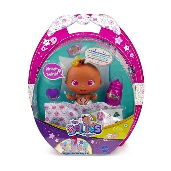 Papusa interactiva Bellies -Pinky Twink