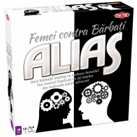 Joc de societate Alias, Women vs. Men - Femei contra Barbati cu Carti de joc - Pacalici