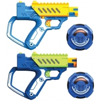 Set 2 arme de jucarie cu laser Silverlit Lazer M.A.D. Battle Ops Set Of 2 Electronic Weapons