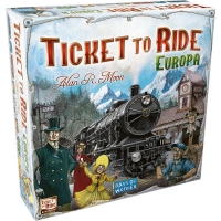 Joc de societate- Ticket to Ride Europe