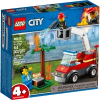 Set de constructie LEGO City - Gratarul ars