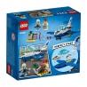 Set de constructie LEGO City -Avionul politiei aeriene