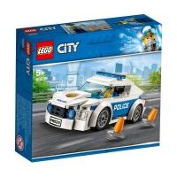 Set de constructie LEGO City- Masina de politie pentru patrulare