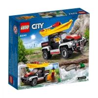 Set de constructie LEGO City-Aventura cu caiacul