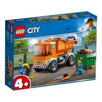 Set de constructie LEGO City- Camion pentru gunoi