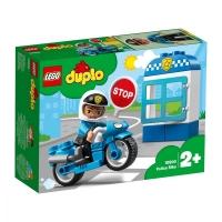 Set de constructie LEGO DUPLO-Motocicleta de politie