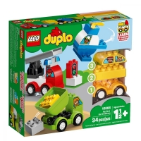 Set de constructie LEGO DUPLO-Primele mele Masini Creative