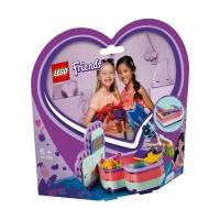 Set de constructie LEGO Friends -Cutia de vara in forma de inima a Stephaniei