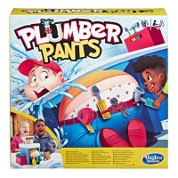 Joc de societate Hasbro-Pantalonii Instalatorului , Plumber Pants