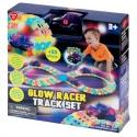 Set circuit si masinuta cu lumini-Glow Racer