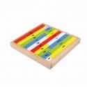 Jucarie din lemn cu bete de numarat