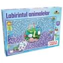 Puzzle Noriel - Labirintul animalelor, 35 piese