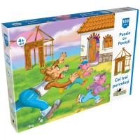 Puzzle 100  piese  Noriel -Cei Trei Purcelusi
