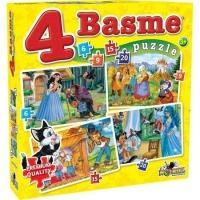 Puzzle Noriel - 4 Basme Mici 6, 9, 15, 20