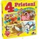 Puzzle Noriel - 4 Prieteni Mici 6, 9, 15, 20