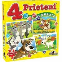 Puzzle Noriel - 4 Prieteni Mari 12, 24, 42, 56