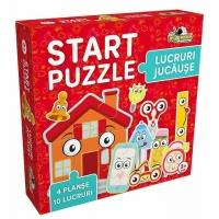 Start Puzzle 4 in 1 – Lucruri jucause , Noriel