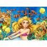 Puzzle Noriel 100 de piese -Mica sirena