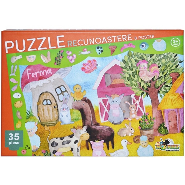 Puzzle recunoastere ferma