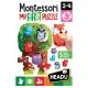 Montessori - Primul meu puzzle Padurea