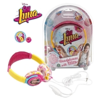 SOY LUNA - CASTI CU SCLIPICI - Headphones with glitter