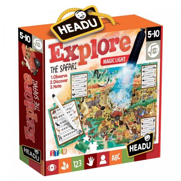 Joc educativ Explorati Safari Headu
