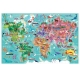 Joc Puzzle Inconjurul Lumii 216 piese Headu
