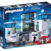 Playmobil Sediu De Politie Cu Inchisoare