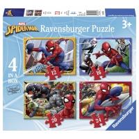 PUZZLE SPIDER-MAN, 12/16/20/24 PIESE