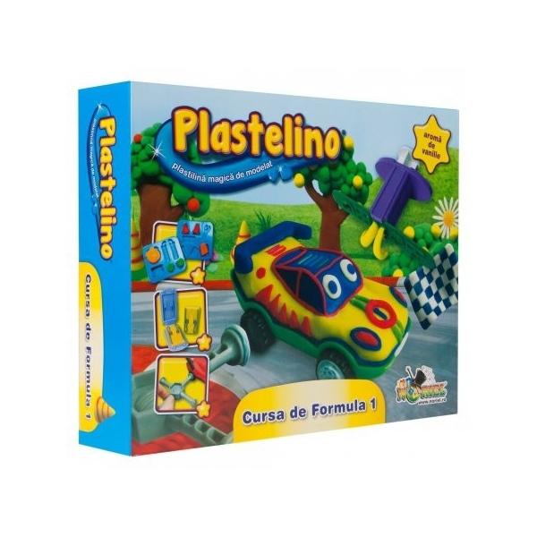 Plastelino Cursa de Formula I