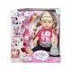 Baby Born - Papusa Surioara Interactiva Blonda ZF820704
