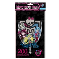 Notes cu 200 abtibilduri Monster High