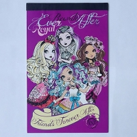 Notes cu 200 abtibilduri Ever After High