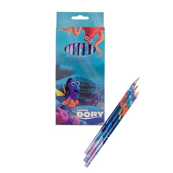 Set 12 creioane colorate Dory DO00106