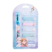 Pix 6 culori + memo stick Frozen FZ3916