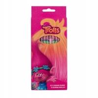 Set 12 creioane colorate Trolls TR00106
