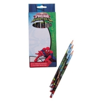 Set 12 creioane colorate Spiderman SM00106