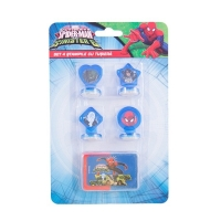Set 4 stampile Spiderman SM3602