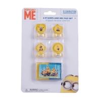 Set 4 stampile cu tusiera Minions MO3602