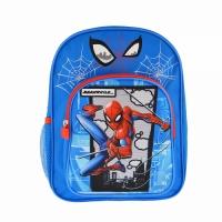 """Ghiozdan 12"""" 2 compartimente, Spider-Man"""