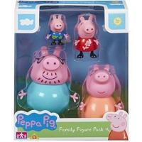 Set figurine Peppa Pig, Familia lui Peppa