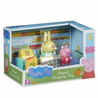 Set de joaca Peppa Pig, la supermarket
