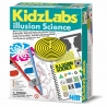 Set Educativ Kidz Labs, 4M, Stiinta iluziilor