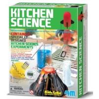 Set educativ Kids Labs - Kitchen Science, Stiinta in bucatarie