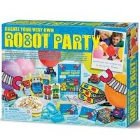Set Creeaza Propria Petrecere cu Roboti