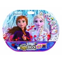 Set Pentru Desen 5In1 Gigablock Frozen2