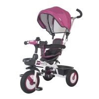 Tricicleta multifunctionala MamaLove Rider Violet