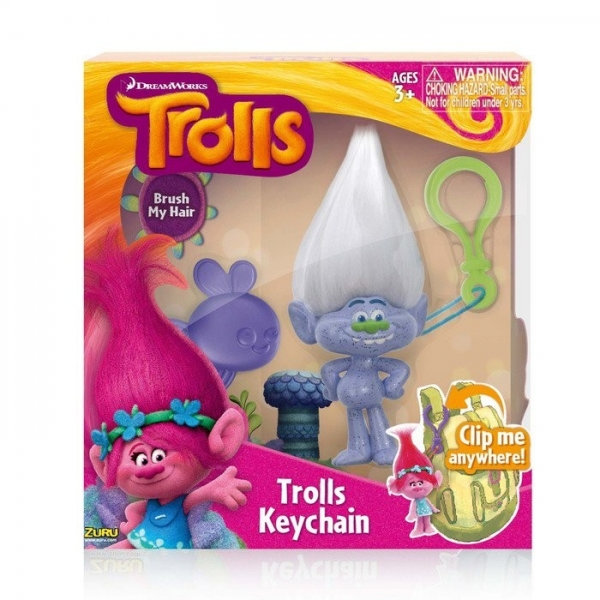 Breloc Trolls Guy Diamond 10cm