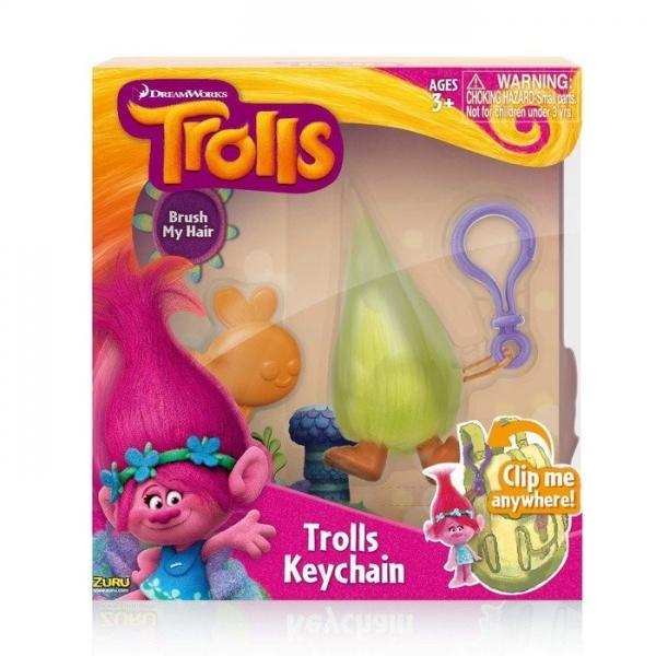 Breloc Trolls Fuzzbert 10 cm