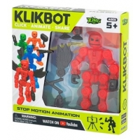 Figurina pentru animatie Klikbot S1 Rosu